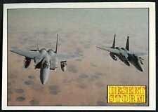 A Pair Of Eagles #1 Desert Storm 1991 Merlin Sticker (C959)