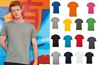 B&C Collection Men's Short Sleeve T-Shirt TW102 - Plain Fitted Tee Top