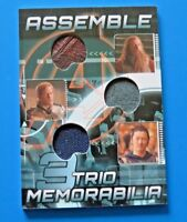 2012 UPPER DECK MARVEL AVENGERS ASSEMBLE THOR ~ TRIO MEMORABILIA CARD #AT-2