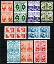 Panama 1937, Sc#311-316+C40-42, Firefighters, superb MNH, VERY SCARCE, REAL GEM!