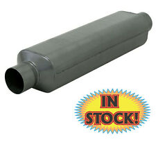 """Flowmaster 12018409 Super HP-2 Muffler 2"""" In / Out - 24"""" Overall - 409 Stainless"""