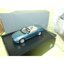 BMW SERIE 6 CABRIOLET Bleu Vert MINICHMAPS 1:43