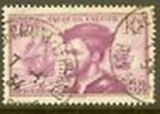 """FRANCE TIMBRE STAMP N° 296 """" JACQUES CARTIER AU CANADA """" OBLITERE TB"""
