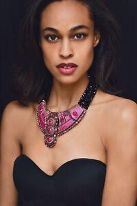 Heidi Daus Globally Glamorous Crystal and Enamel Collar Necklace - Breathtaking