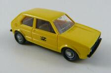 VW Golf I Post gelb Wiking 1:87 H0 ohne OVP [WN7]