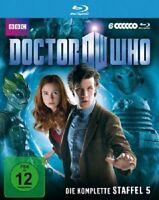 DOCTOR WHO-STAFFEL 5-KOMPLETTBOX (6 DISCS) 6 BLU-RAY NEU