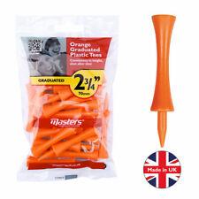 """Masters Plastic Graduated Tees 2 3/4 """" Orange"""