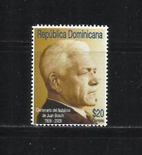 REP. DOMINICANA. Año: 2009. Tema: PERSONALIDADES.