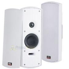 """2 Pack 4"""" Home Indoor Outdoor Speakers Multi Purpose Weather Resistant MTX Audio"""
