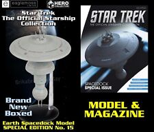 More details for star trek official starship collection: earth spacedock model - special edition