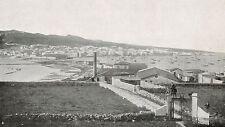 D1168 Carbonia-Iglesias - Carloforte - Veduta - Stampa antica - 1925 old print