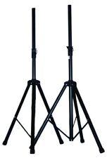 2x Heavy Duty Tripod DJ PA Speaker Stands 53 inch Adjustable Height 1 Pair