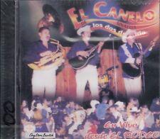 EL CANELO DE SINALOA LOS DOS DEL SITIO EN VIVO DESDE EL RODEO CD Nuevo Sealed