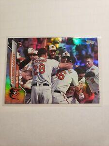2020 Topps Series 2 Silver Rainbow Foil #694 Baltimore Orioles TC