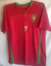 Portugal # 7 Blank Shirt Top + Shorts Combo Youth XL NEW WITHOUT TAGS