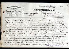"MABLY / ROANNE (42) TUILERIE ""François CANCALON"" en 1911"
