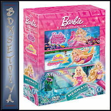 BARBIE - THE MERMAID COLLECTION  **BRAND NEW DVD BOXSET *