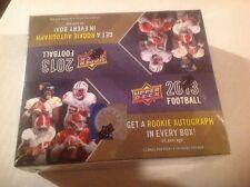 2013 UPER DECK 24 PACK RETAL BOX 1 AUTO PER BOX FOOTBALL BOX