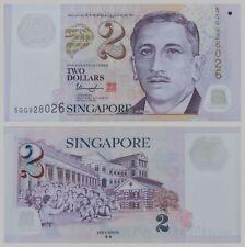 Singapur / Singapore 2 Dollars 2012 Polymer 46g unz.