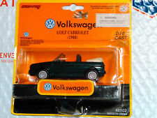 BlueRay 1:43 Green 1988 Golf Cabriolet Volkswagen VW