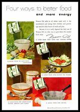 1935 Wesson Oil For Boiling Vegetables Salads Shortening Frying Color Print Ad