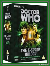 DOCTOR WHO -THE E-SPACE TRIOLOGY (Full Circle / State of Decay / Warrior's Gate)