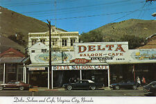 postcard USA   Nevada  Virginia City Delta Saloon and Cafe  unposted
