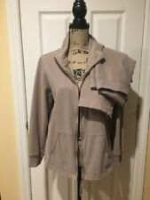 Eileen Fisher Women's Cotton Sweatsuit Tracksuit Outfit Lounge Small