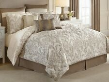 NEW Croscill Classic QUEEN Comforter Set MADELINE 4 Piece Shams Bedskirt IVORY