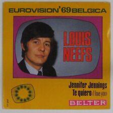 Louis Neefs 45 Tours Eurovision 1969 Espagne