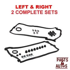 BMW 545i,550i,645Ci,650i,745Li Valve Cover Gasket Set, LEFT & RIGHT