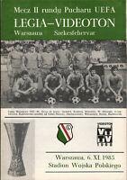 UEFA Cup - EC III 85/86 Legia Warschau - Videoton Szekesfehervar, 06.11.1985