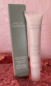 MARY KAY TIMEWISE AGE MINIMIZE 3D~EYE CREAM~HELPS IMPROVE FINE LINES & WRINKLES!