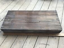 Vintage LIbbey Owens Ford Glass Co. Shipping Crate Seasoned Wood Advertising
