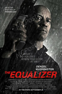 MCPoster - The Equalizer Denzel Washington Movie Poster Glossy Finish - PRM210