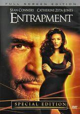 NEW DVD - ENTRAPMENT - SEAN CONNERY, CATHERINE ZETA JONES , VING RHAMES