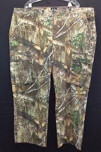 Real Tree Edge Mens Camoflage Cargo Pants 6 Pockets Size 3XL XXXL 48/50 NWOT