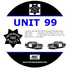 UNIT 99 (42 SHOWS) OLD TIME RADIO MP3 CD