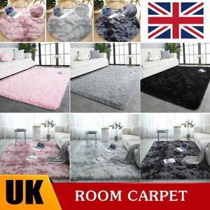 Fluffy Large Shaggy Rugs Non Slip Hallway Runner Rug Bedroom Living Room Carpet