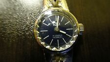 RARE VINTAGE STERLING SILVER WOMANS WATCH ANKER 17 JEWELS