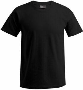 PROMODORO | 3099 HERREN PREMIUM T-SHIRT in black