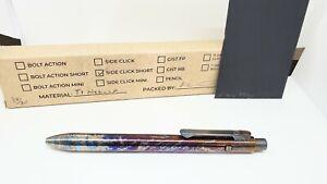Tactile Turn Short Side Click Titanium Nebula Pen