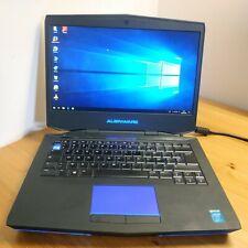Portable Gamer Alienware P39G - Core i7-4700MQ, 8 Go, SSD 64 Go