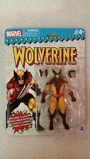 "Marvel Legends Brown Suit Wolverine Retro Vintage 6"" Action Figure New/Sealed"