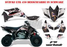 Amr racing décor Graphic Kit ATV suzuki ltr 450 Lt-r p40-warhawk B