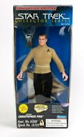 "1996 Playmates Star Trek Collector Series Christopher Pike 9"" Action Figure NIB"
