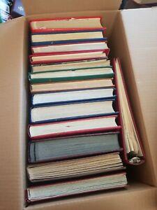 14 dickere Alben aus aller Welt ab Altmaterial Lagerbücher Sammlungen auch ** 3C