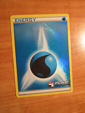 NM 2011 LEAGUE HOLO/FOIL GIOCO! Pokemon ACQUA ENERGIA CARTA crosshatched PROMO
