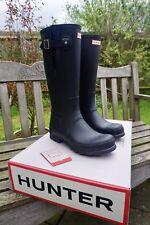 Hunter's Men's Original Black Side Adjustable Wellington Boots Size 11