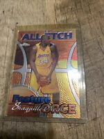 1999-00 Topps Chrome All-Etch #AE5 Shaquille O'Neal - NM-MT